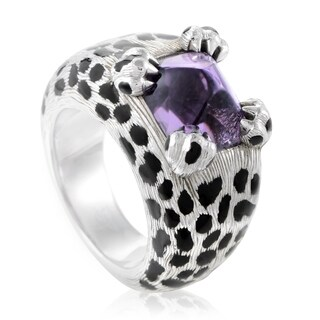 Dior Mitza Women's White Gold Amethyst Ring