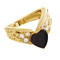 Van Cleef & Arpels Women's Yellow Gold Diamond Band Ring