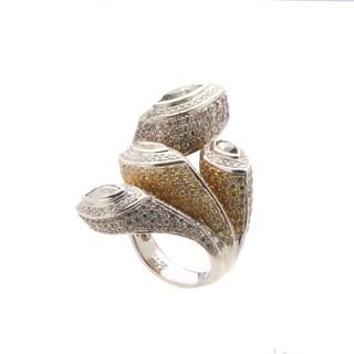Women's White Gold Multi-Diamond Ring KH0108233AC