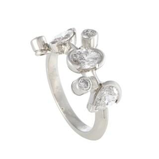 Cartier Meli Melo Platinum Diamond Band Ring