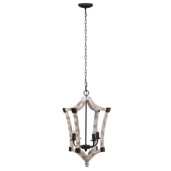 Andreas Winged Chandelier, 18x18x27 inches