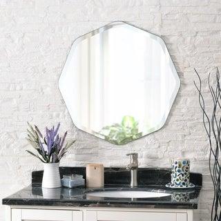 "Quatre 28-inch Wall Mirror - 28"" x 28"""