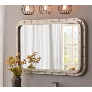 Design Craft Branston 36-inch Silver Wall Mirror