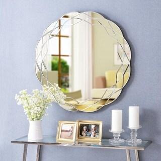 Design Craft Hadley 30-inch Wall Mirror