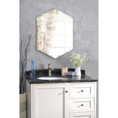 Design Craft Mae 32-inch Wall Mirror