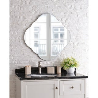 Alyssa 30-inch Frameless Wall Mirror