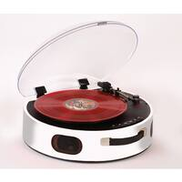 ROCK'N'ROLLA UFO One-of-a-kind Rechargeable Portable Turntable w/Bluetooth
