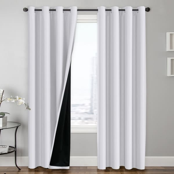 for inch shop linen thermal h panels drapes grommet well blue thick insulated living versailtex dark pair off ultra surprise sleep textured curtain energy by saving room primitive curtains