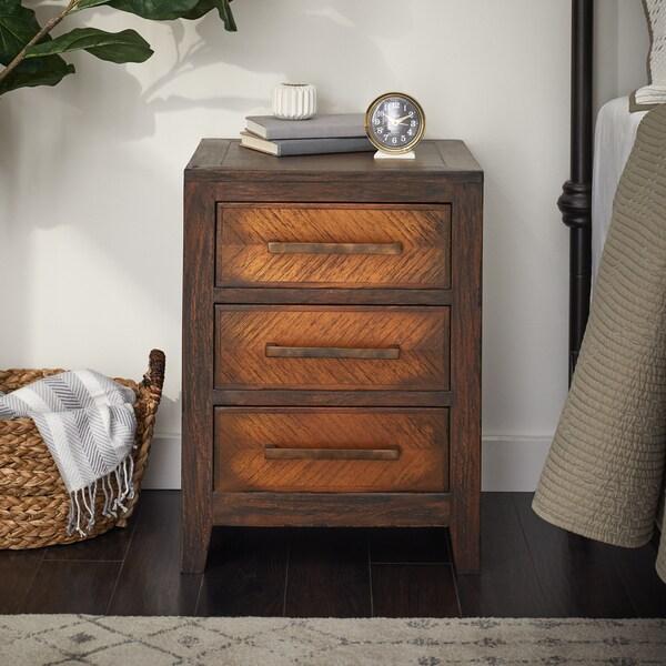 Shop Handmade Wood Baccardi Small 3 Drawer Dresser Table