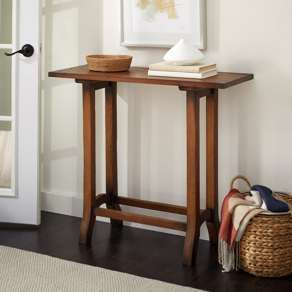 Handmade Zakim Wood Console Table (Indonesia)