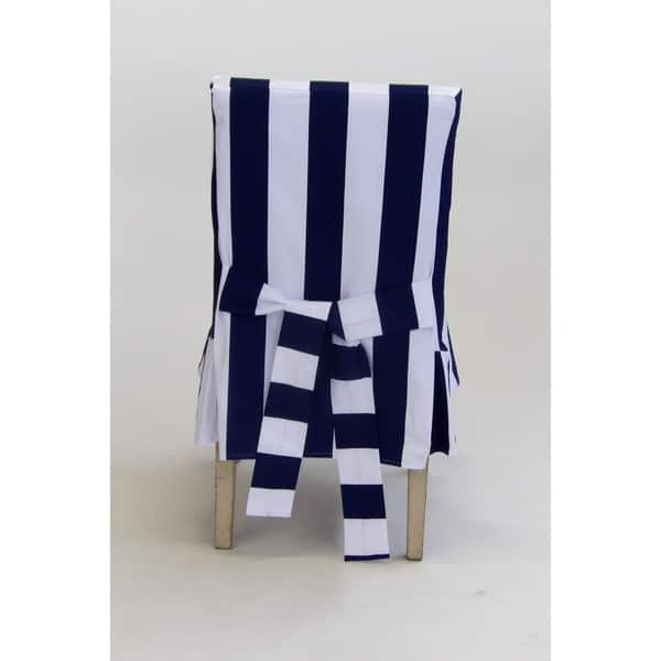 Phenomenal Shop Classic Slipcovers Cabana Stripe Short Dining Chair Andrewgaddart Wooden Chair Designs For Living Room Andrewgaddartcom