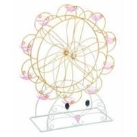 Transpac Metal Ferris Wheel Egg Holder