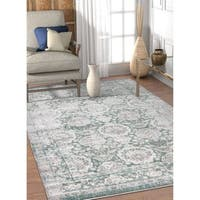 Well Woven Vintage Oriental Blue Area Rug - 5'3 x 7'3