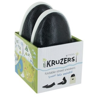Kruzers Foldable Slip-on Street Sneakers with Full Rubber Sole (More options available)