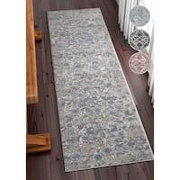 Well Woven Modern Oriental Runner Rug (2'3 x 7'3)