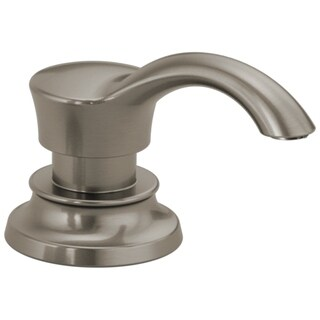 Delta Spotshield Stainless Deck Mounted Metal Soap Lotion Dispenser