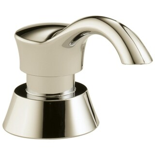 Delta Polished Nickel Metal Gala Soap Lotion Dispenser