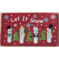 Let it Snow Coirmat