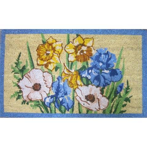 Iris and Daffodil Coirmat
