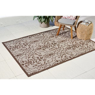 Nourison Natural Patterned Durable Indoor/Outdoor Area Rug