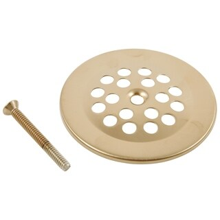 Delta Champagne Bronze Dome Strainer and Screw