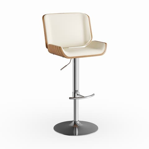 Carson Carrington Tranas Mid-Century Modern Adjustable Barstool