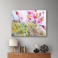 Maison Rouge Karin Johannesson 'Summer Pink' Gallery-Wrapped Canvas