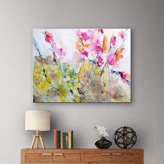 Copper Grove Karin Johannesson 'Summer Pink' Gallery-Wrapped Canvas