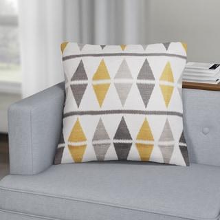 Carson Carrington Verdalsora Argyle Throw Pillow