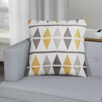 Carson Carrington Verdalsora Argyle Throw Pillow