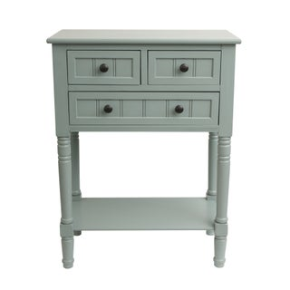 Simplify Wood 3-drawer Console Table