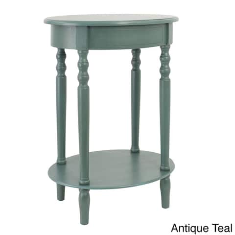 The Curated Nomad Saturnino Oval Accent Table