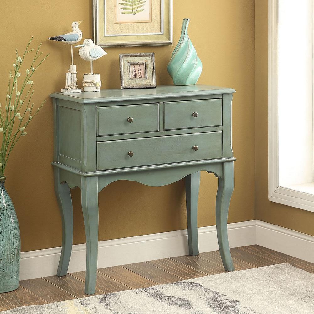 innovative design 31122 3252b The Gray Barn Cedar Hollow Vintage Style 3-drawer Hallway Table