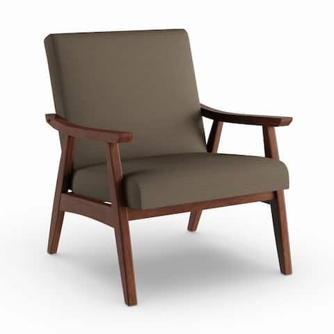 Carson Carrington Karkkila Mid Century Arm Chair