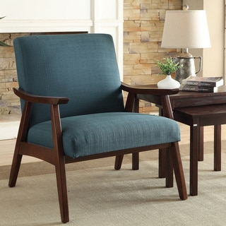 Shop Aurla Mid Century Fabric Accent Chair By Christopher