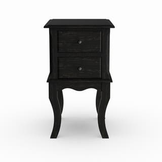 Maison Rouge Daumal Vintage Style 2 Drawer Side Table