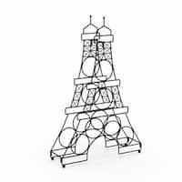 Copper Grove Verendrye Eiffel Tower Wine Holder Rack