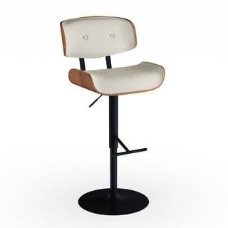 Carson Carrington Nybro Mid-century Modern Adjustable Barstool