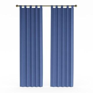 Porch & Den Cloverleaf Curtain Panel Pair