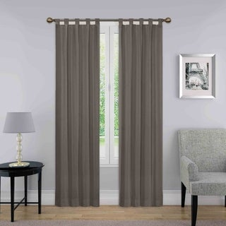 Porch & Den Cloverleaf Curtain Panel Pair