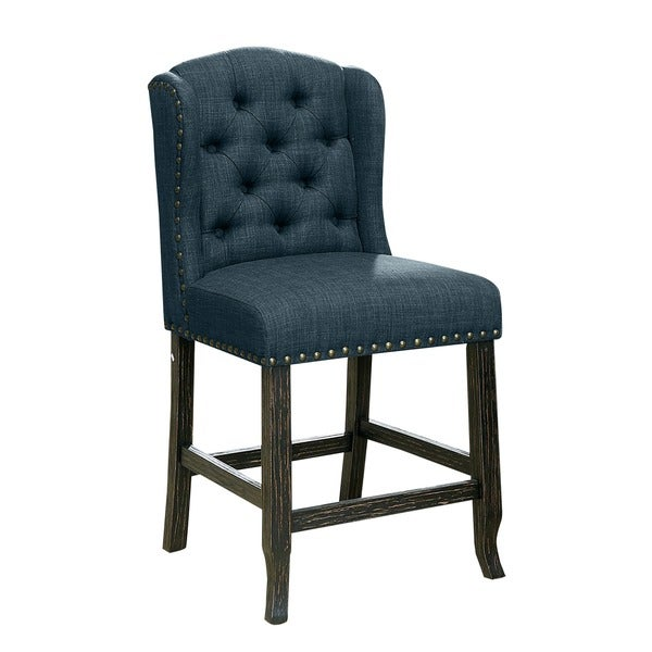 Groovy Buy Blue Wood Counter Bar Stools Online At Overstock Beatyapartments Chair Design Images Beatyapartmentscom