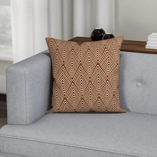 Carson Carrington Verdalsora Geometric Print Pillow