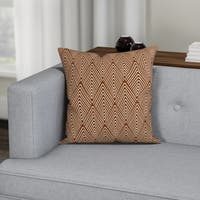 Carson Carrington Verdalsora Geometric Print Pillow