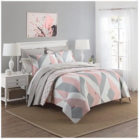 Carson Carrington Verdalsora Reversible Cotton 3-piece Comforter Set