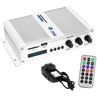 Pyle PFMRA350BW Automotive/Marine Amplifier - 200 W RMS - 2 Channel -