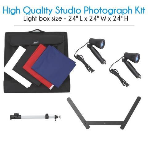 Pyle Studio Photo Light Booth Image & Photography Kit