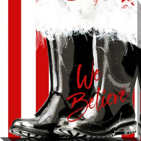"""We Believe "" by Jodi Painting Print on Wrapped Canvas"