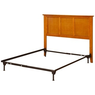 Madison Headboard Full Size with Metal Bed Frame Caramel Latte