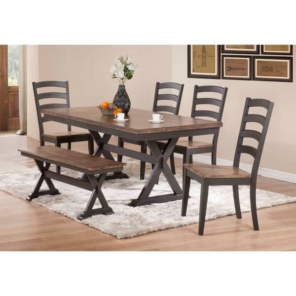 Boulder 36 X 72 Trestle Table On Sale Overstock 20374154