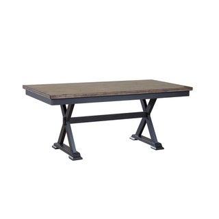 """Boulder 36"""" x 72"""" Trestle Table"""